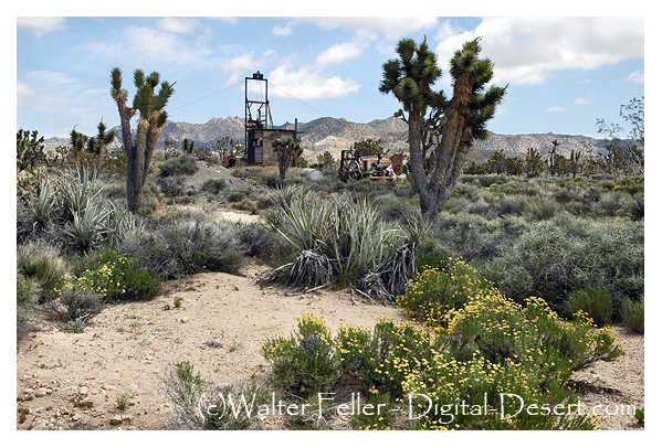 Death Valley mine in Mojave National Preserve