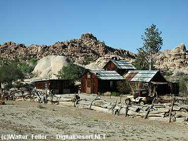 Mojave Ca Old Desert Cafe Istory